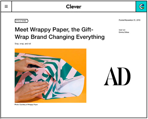 Wrappy Paper on Arch Digest
