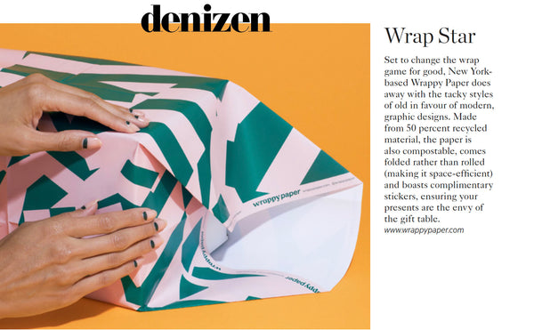 Wrappy Paper featured in denizen