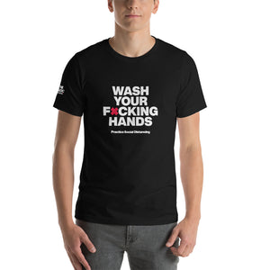 Short-Sleeve Unisex T-Shirt - Wash Your F'n Hands