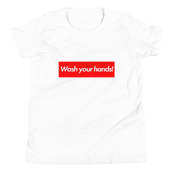 Youth Short Sleeve T-Shirt - Wash Your Hands