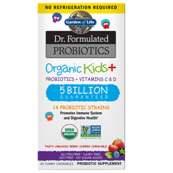 Dr. Formulated Probiotics Organic Kids (Berry Cherry)