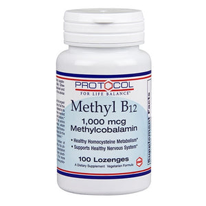 Methyl B12 (1000 mcg) 100 lozenges by Protocol