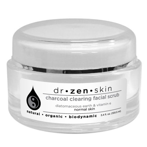 CHARCOAL CLEARING FACIAL SCRUB 3.4 OZ. BY DR. ZEN SKIN