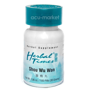 SHOU WU WAN, HERBAL TIMES®