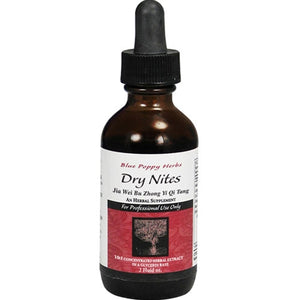 DRY NITES (GLYCERIN TINCTURE) 2OZ, BLUE POPPY