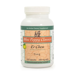 ER CHEN TANG CAPS 120'S, BLUE POPPY