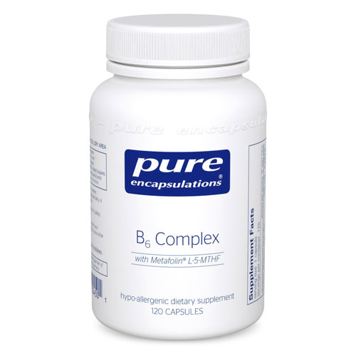 B6 COMPLEX 120'S, PURE ENCAPSULATIONS