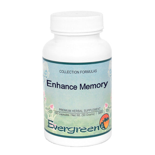 ENHANCE MEMORY - EVERGREEN CAPS 100CT