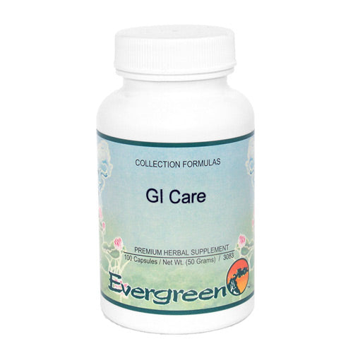GI CARE - EVERGREEN CAPS 100CT