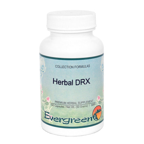 HERBAL DRX - EVERGREEN CAPS 100CT