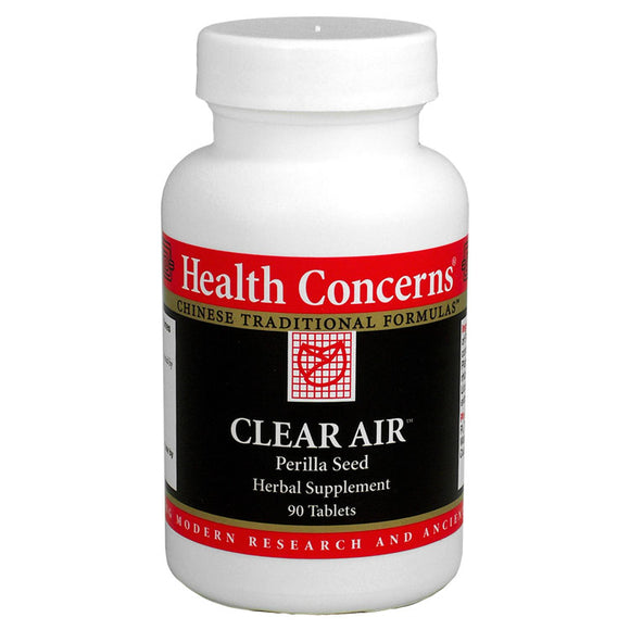 Clear Air, Health Concerns 90 tabs