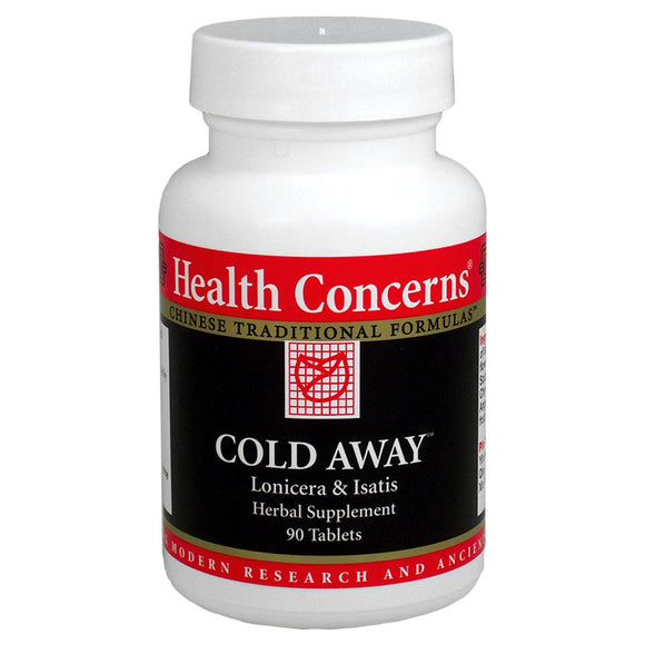 COLD AWAY, HEALTH CONCERNS 90 TABS