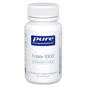 FOLATE 1000 90'S, PURE ENCAPSUALTIONS