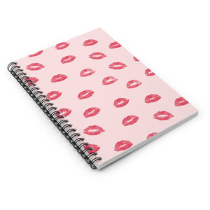 Give 'em Lip Spiral Notebook
