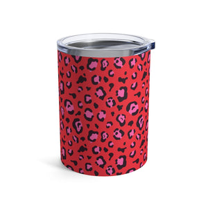 Holiday 2020 Red Leopard 10 oz Tumbler