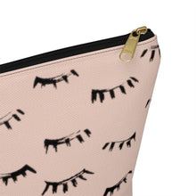 Load image into Gallery viewer, Lash Pattern Cosmetics Bag
