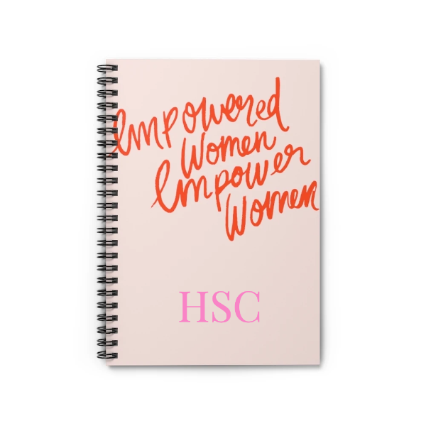 Personalized Empowered Women Notebook