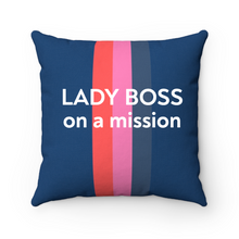 Load image into Gallery viewer, Personalized Solid Stripe Pillow