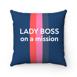 Personalized Solid Stripe Pillow