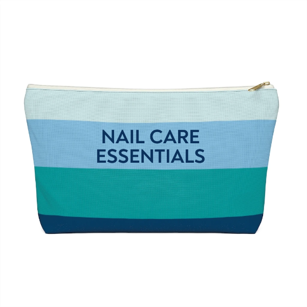 Personalized Cabana Stripe Pouch