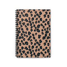 Load image into Gallery viewer, Signature Leopard Spiral Notebook