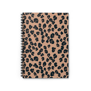 Signature Leopard Spiral Notebook