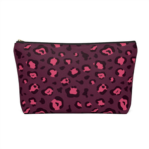 Holiday 2020 Plum Leopard Pouch