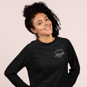 Atlanta Love Embroidered Sweatshirt