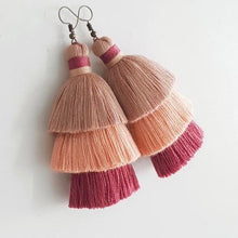Load image into Gallery viewer, Ola Tassel Earrings