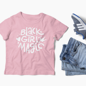 Black Girl Magic Kids T-shirt