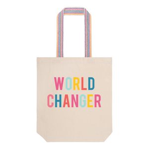 World Changer Reusable Tote Bag