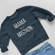 Load image into Gallery viewer, Mama on a Mission Classic Triblend Sweatshirt