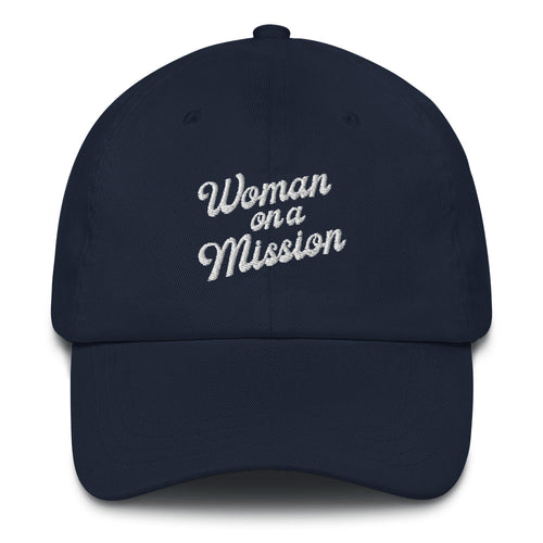 Woman on a Mission hat