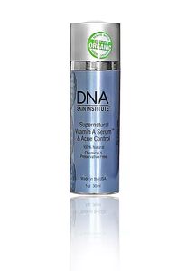 Supernatural Vitamin A Serum.  This remarkable therapeutic anti-aging crème, rich in Vitamin A and phyto-nutrients, supports and accelerates new cell growth for rapid transformation of the skin. It moisturizes, softens and helps diminish fine lines and wrinkles and balances skin pigmentation, while healing and promoting healthier facial tissue.