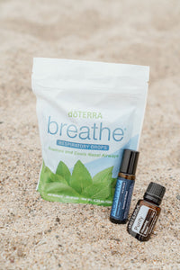 doTerra breathe respiratory drops, adaptiv roll on, purify essential oil