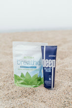 Load image into Gallery viewer, Support and Soothe Wellness Bag. doTerra Breathe Respiratory Drops   doTerra Deep Blue Rub