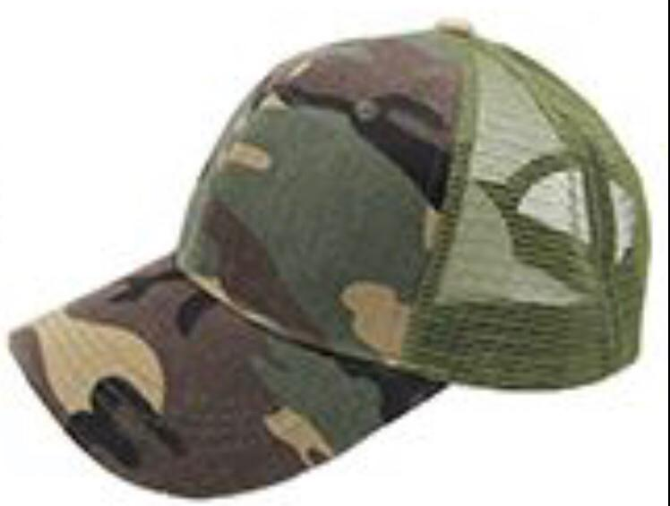 Army Ponytail Cap