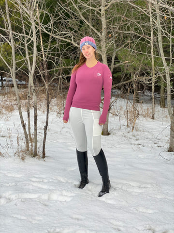 Equestrian's Seamless Dry Fit