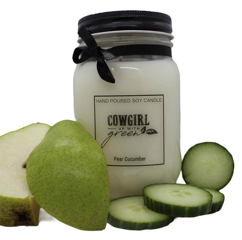 Pear Cucumber Soy Candle