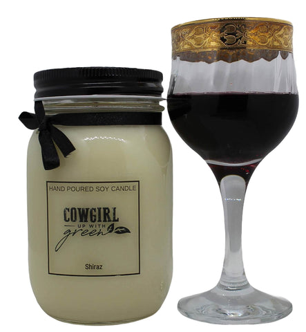 Shiraz Soy Candle