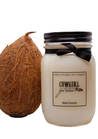 Black Coconut Soy Candle