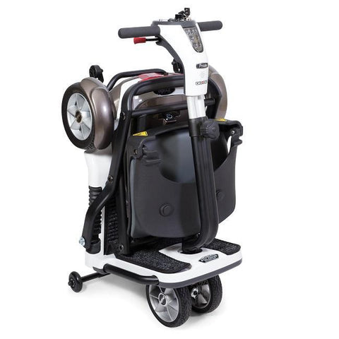 travel scooter compact suitcase form
