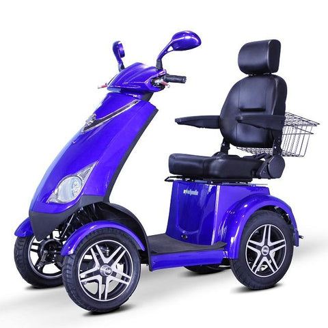 E-Wheels: 72 Scooter - Mobility Scooters Store side view