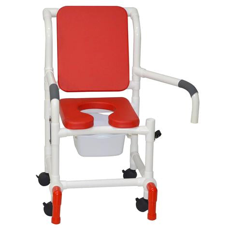 Modern-looking shower chair