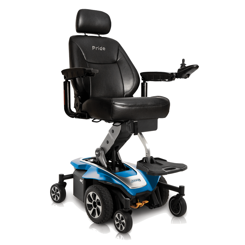 Jazzy Air 2: power wheelchair with elevating seat