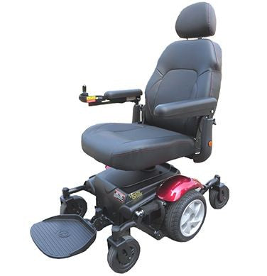 Merits: Vision Sport P326D with seat on lowest elevation