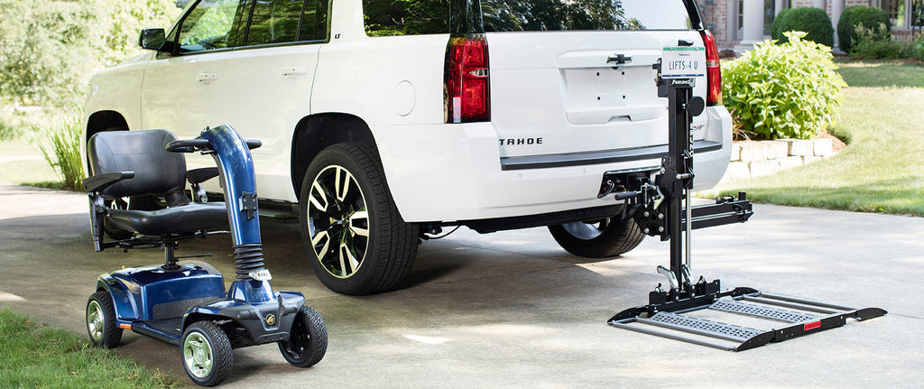 Electric scooter SUV lift