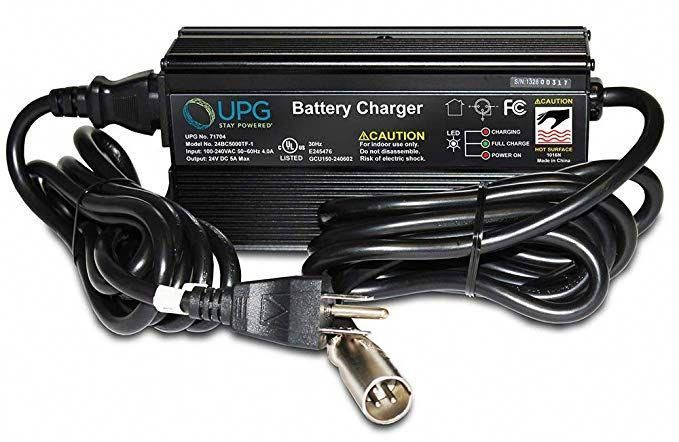 upg mobility battery charger