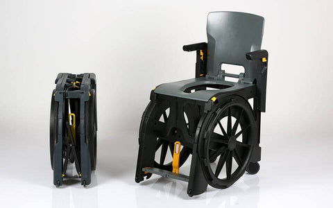 Seatara: Wheelable Travelling Commode And Shower Chair - ZMR300100