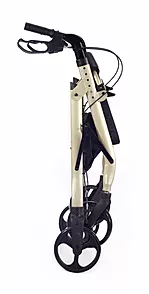 Easily folds for storage and transport  of comodita Spazio walker Rollator